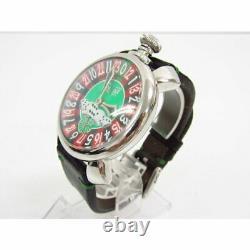 GaGa MILANO Manuare 48 Las Vegas 5010. LV. 01S Roulette 500 Limited Men's Watch