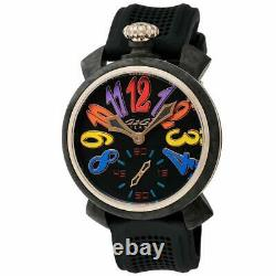 GaGà Milano Carbon Men's Mechanical Watch 48MM Rose Gold Limited Edition
