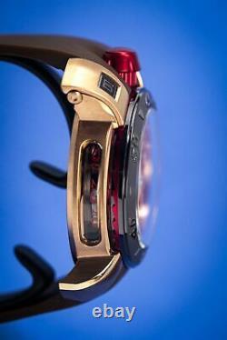 GaGà Milano Chrono Men's Quartz Watch 48 Rose Gold PVD