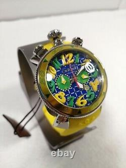 GaGa Milano JP 250 Limited model 48MM Men's Watch 6050. LE. 02. JAPAN almost mint