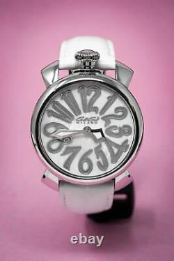 GaGà Milano Manuale Women's Quartz Watch 40MM White