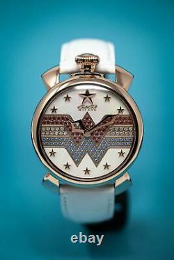 GaGà Milano Manuale Women's Watch 40MM Wonder Woman Limited Edition