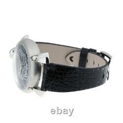 Gaga Milan Manuare bionic skull watch 6010.01S stainless steel black dial 1752