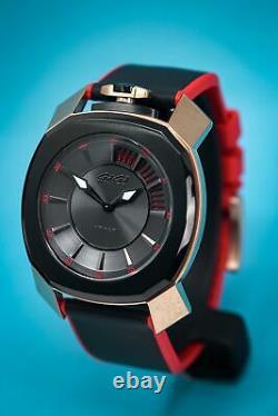 Gaga Milano Frame One Unisex Quartz Watch Rose Gold