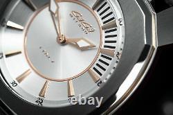 Gaga Milano Frame One Unisex Quartz Watch Silver