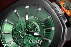 Gaga Milano Frame One Unisex Watch Skull Green