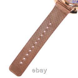 Gaga Milano Manure 46 Watches gold Stainless Steel unisex SilverDial