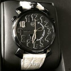 Gaga Milano Men's 5099. NJ. 01D Thin Chrono 46mm Neymar Limited Edition Watch
