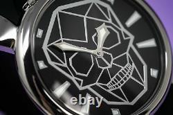 Gaga Milano Slim Unisex Quartz Watch 46 Bionic Skull Black