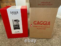 Gaggia Milano Classic Espresso Maker Machine RI9303/47