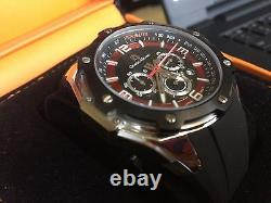 Giorgio Milano SS Chrono, with Date Water Resistant 100 Meters-330 feet