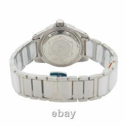 Giorgio Milano Stainless Steel White Dial Quartz Ladies Watch GM705SLWH