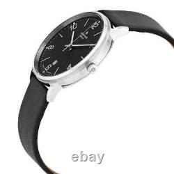 Junghans Milano Solar Quartz Black Dial Watch 014/4062.00
