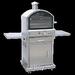 Lifestyle Stainless Steel Milano Pizza Oven Fully Assembled, Graded Stock