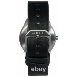 MAST Milano A24-SL403M. BK. 01I Mens 24 Hour Single-hand Quartz watch