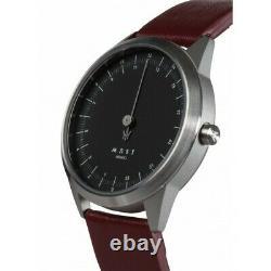 MAST Milano A24-SL403M. BK. 16I Mens 24 Hour Single-hand Quartz watch