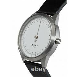 MAST Milano A24-SL403M. WH. 01I Mens 24 Hour Single-hand Quartz watch
