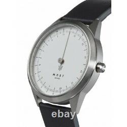 MAST Milano A24-SL403M. WH. 15I Mens 24 Hour Single-hand Quartz watch