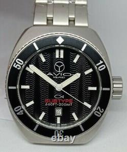 Men's Watch Diver 200 Metres, AVIO MILANO, Subtype Property, Made IN Italy