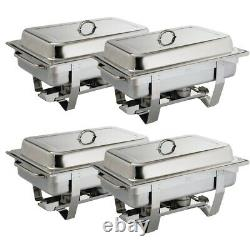 Milan Chafing Set Four Pack of 4 S299