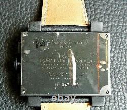 Montres De Luxe Milano Men's 169 Estremo Limited Edition All Black Chronograph