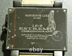 Montres De Luxe Milano Men's Estremo 169 Brand New Chrono withDate-List $1,675.00