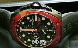 Montres De Luxe Milano Men's SuperAvio Stainless Steel Chronograph Date Watch