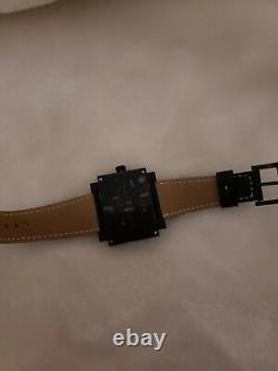 Montres De Luxe Milano Unisex 169 Estremo Double Material Case Watch Date new