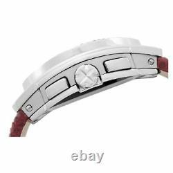 NEW Breil Milano BW0511 Womens Mediterraneo Analog Chrono Silver Dial Watch 100m