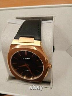 NEW WITH TAGS D1 MILANO leather band Beautiful BOX