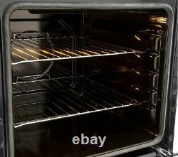 New FLAVEL Milano 100 MLN10FRK Dual Fuel Range Cooker Black & Chrome
