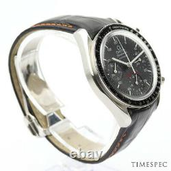 Omega Speedmaster Reduced Chronograph 100th Anniversary AC Milan Stainless Steel