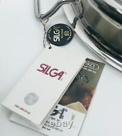 SILGA Teknika Milano Low Stockpot/Casserole 28cm NWOB + Bonus Gift Free Shipping