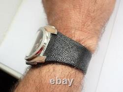 Watch Breil Milano BW0380 Quartz Chronograph Steel Gold Black Curved Case Date