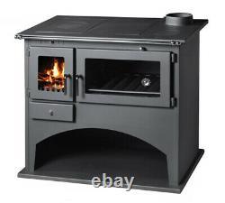 Wood Burning Range Stove Oven Cooker Multi Fuel Milan, Wood Stove Modern Stoves