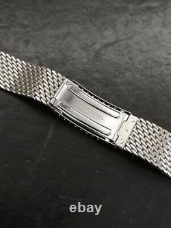 ZENITH BRACELET VINTAGE MESH MILANO STAINLESS STEEL 19mm