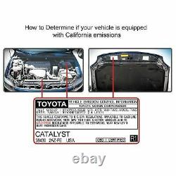 25206 Magnaflow Catalytic Converter Arrière Nouveau Pour Ford Fusion Mercury Milan 06-09