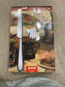 Alessi Nuovo Milano Couverts 24 Pièces Rrp 159 £