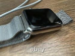 Apple Watch 42mm Acier Stanless Milanes Edtion (iwatch Série 1)