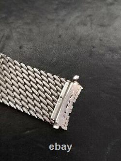 Bracelet Zenith Vintage Mesh Milano Acier Inoxydable 19mm