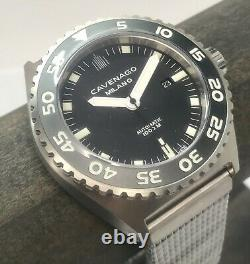 Brand New Cavenago Milano Swiss Automatique 46mm Italienne Limited Edition 100