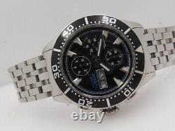 Breil Milano Manta Chronographe Bw0496 Bracelet Surdimensionné Montre Automatique