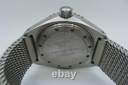 Cavenago Milano Steel1000m Bracelet En Maille De Plongeur Italien 45mm Militare
