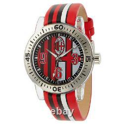 Chronotech Rare A. C Milan Mens Watch / Pdsf 850,00 $ (vente De Clearance)
