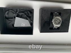 D1 Milano Automatic Steel Skeleton Watch Box (bon État)