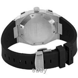 D1 Milano Chronograph Quartz Black Dial Montre Homme Chrj01