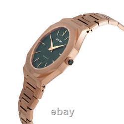 D1 Milano Forest Ultra Thin Quartz Green Dial Men's Watch Utbu02
