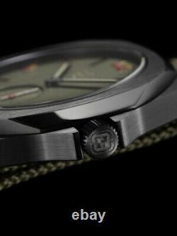 D1 Milano Mtnjms Commando Metal Slug Edition Limitée 38mm 10atm