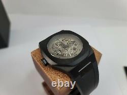 D1 Milano P701 Automatic Black Skeleton Dial Men's Watch Skbj04
