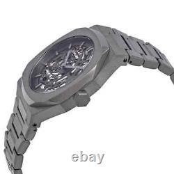 D1 Milano P701 Automatic Skeleton Dial Men's Watch Skbj02